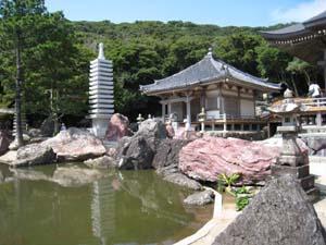 金剛福寺の池2