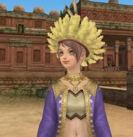 羽根帽子Rina.