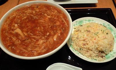 四川洛楽サンラータン麺