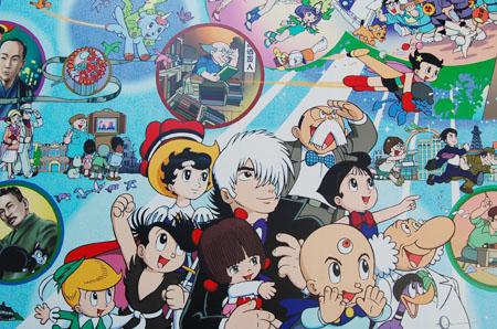 高田馬場壁画
