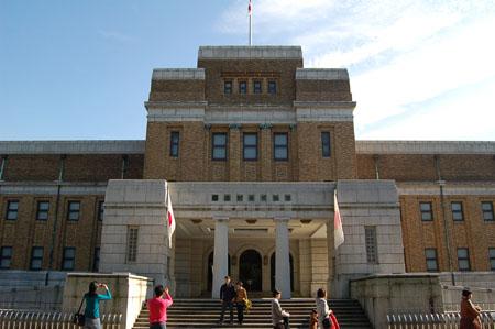 国立科学博物館(外観)