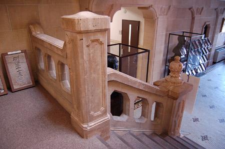 関西学院 旧図書館 階段