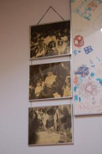 豊中市立青少年自然の家に来訪した手塚先生