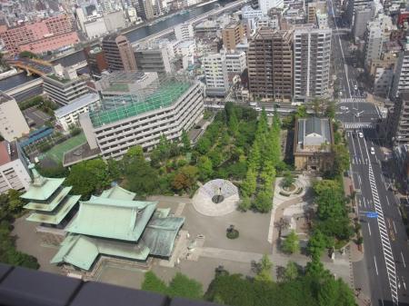 東京都慰霊堂と震災復興記念館