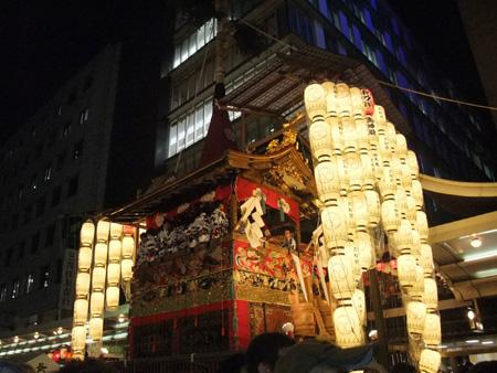 祇園祭長刀鋒