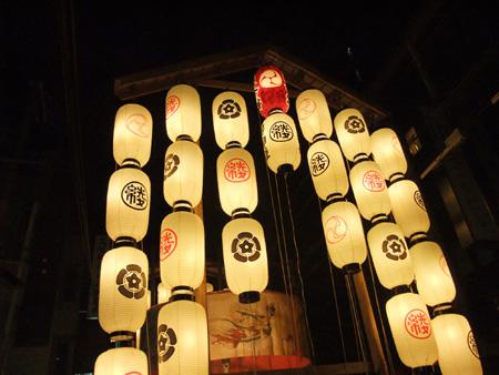 祇園祭 綾傘鉾2