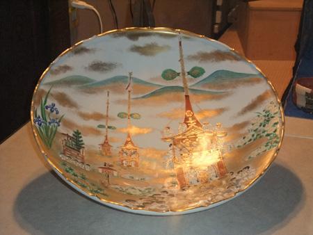 祇園祭絵皿