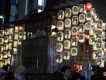 祇園祭 月鋒