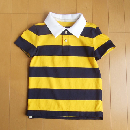 無料型紙 ラガーシャツ