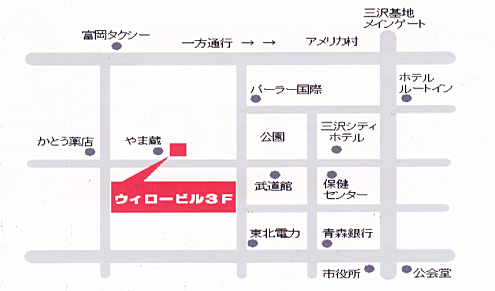 RED NOTE 地図