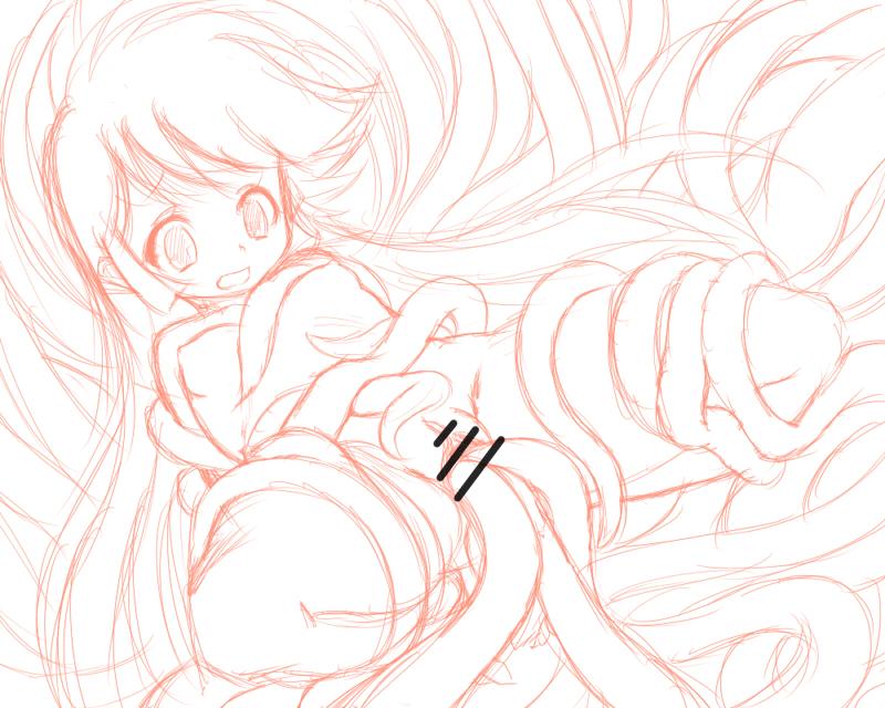雪子姫-ラフ
