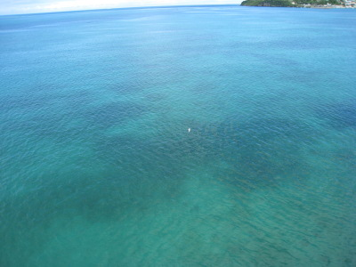 海はエメラルド