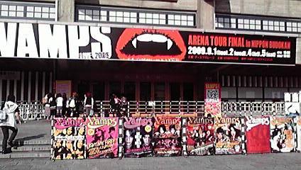 VAMPS LIVE 2009 日本武道館