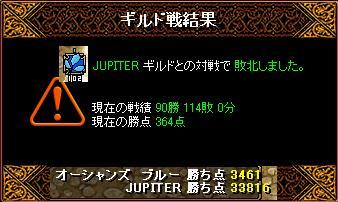 1月30日「JUPITER」ギルド結果