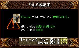 2月1日「Elysium」ギルド結果