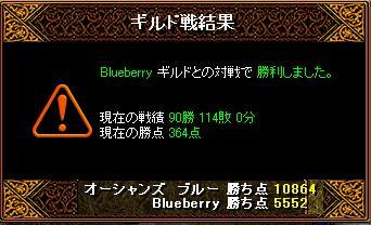 2月6日「Blueberry」ギルド結果
