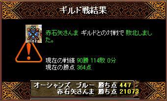 2月13日「赤石矢さんま」ギルド結果