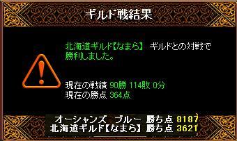 3月8日「北海道ギルド【なまら】」結果