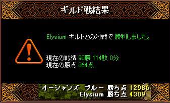 3月15日「Elysium」ギルド結果