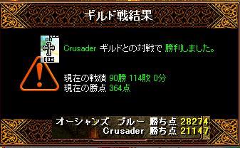 4月12日「Crusader」ギルド結果