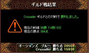 6月28日「Crusader」結果