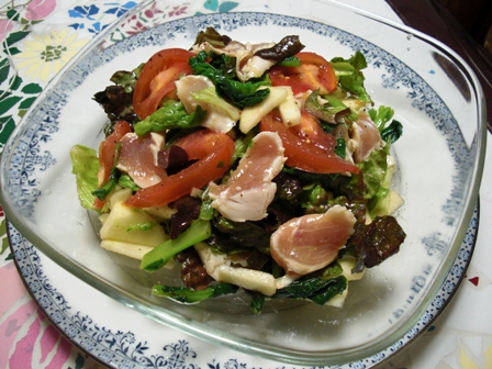 ササミのサラダ