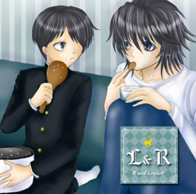 LとRのコラボレーション01