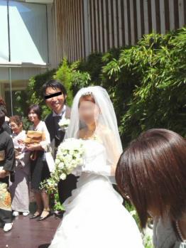 結婚式日和でした