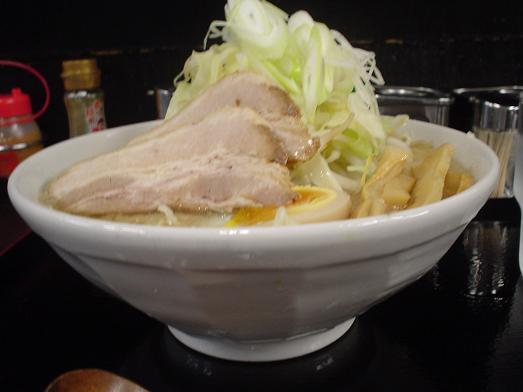 新小岩の石鍋つけ麺あつあつのガチ盛り豚骨しょうゆ007