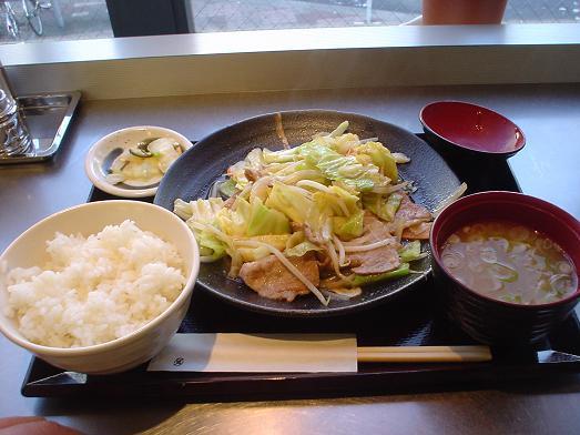駅の定食屋ちゃぶぜん津田沼店08