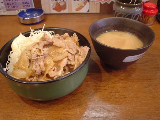 洋食屋キッチン大(DAI)のスタミナ丼ライス大盛り013