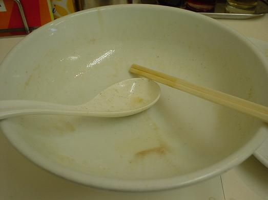活力ラーメン元気一杯ラーメン稲毛店でラーメンと餃子013