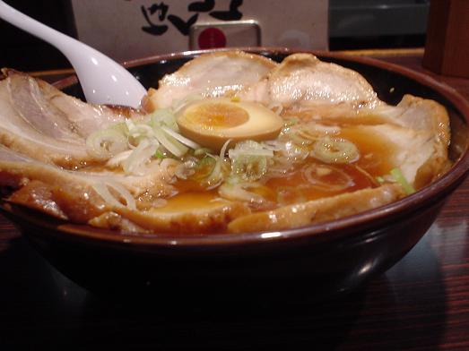 らーめんほくしん 江戸川大杉店でがんこチャーシューメン021
