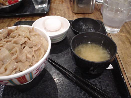 秋葉原の昭和食堂でスタミナ丼祭り大盛り480円026