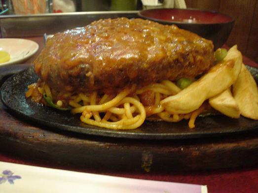 レストラン喫茶タクトのハンバーグ定食018