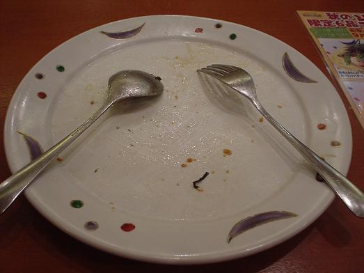 安くて美味しいパスタ屋さんヴィアマンマでメガ盛り006