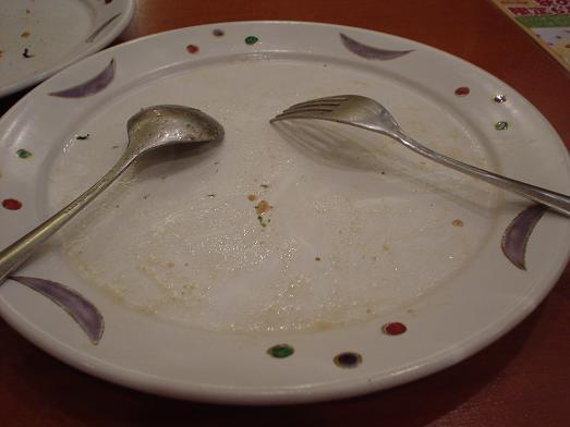 安くて美味しいパスタ屋さんヴィアマンマでメガ盛り008