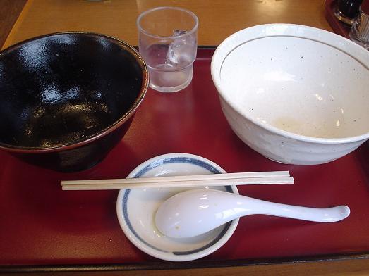 山田うどんのお得セット「とうふ玉子丼セット」031