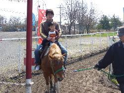 初の馬のり