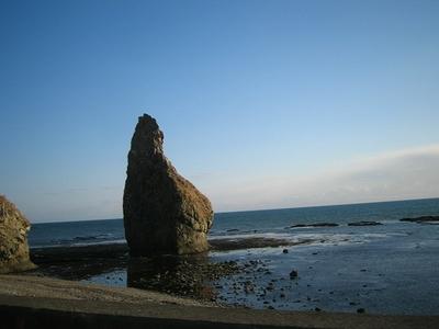 帰路の親子岩付近