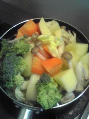 3月12日野菜鍋
