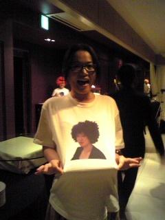 5月21日姉のTシャツ