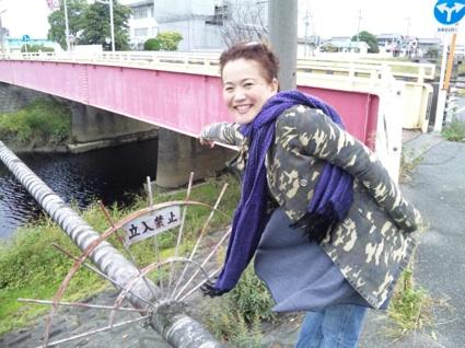 11月13日川&橋