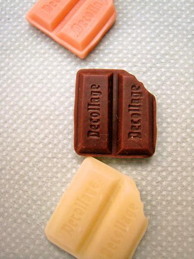 ホビーショー 三色チョコ