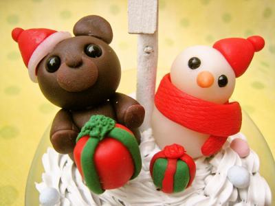 クリスマス メモスタンド2
