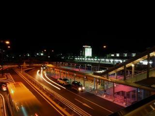 JR岡崎駅のバス乗降場と一般車乗降場