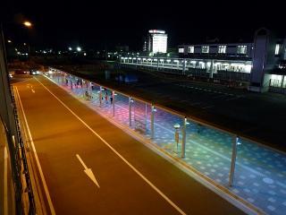 JR岡崎駅のバス乗降場