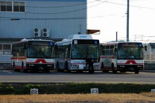 バスの待機所