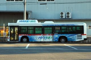 日野ブルーリボンシティハイブリッドバス