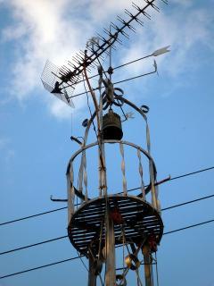 岡崎市針崎町の火の見櫓